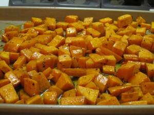 maple glazed sweet potatoes 5