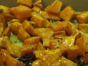 maple glazed sweet potatoes 11