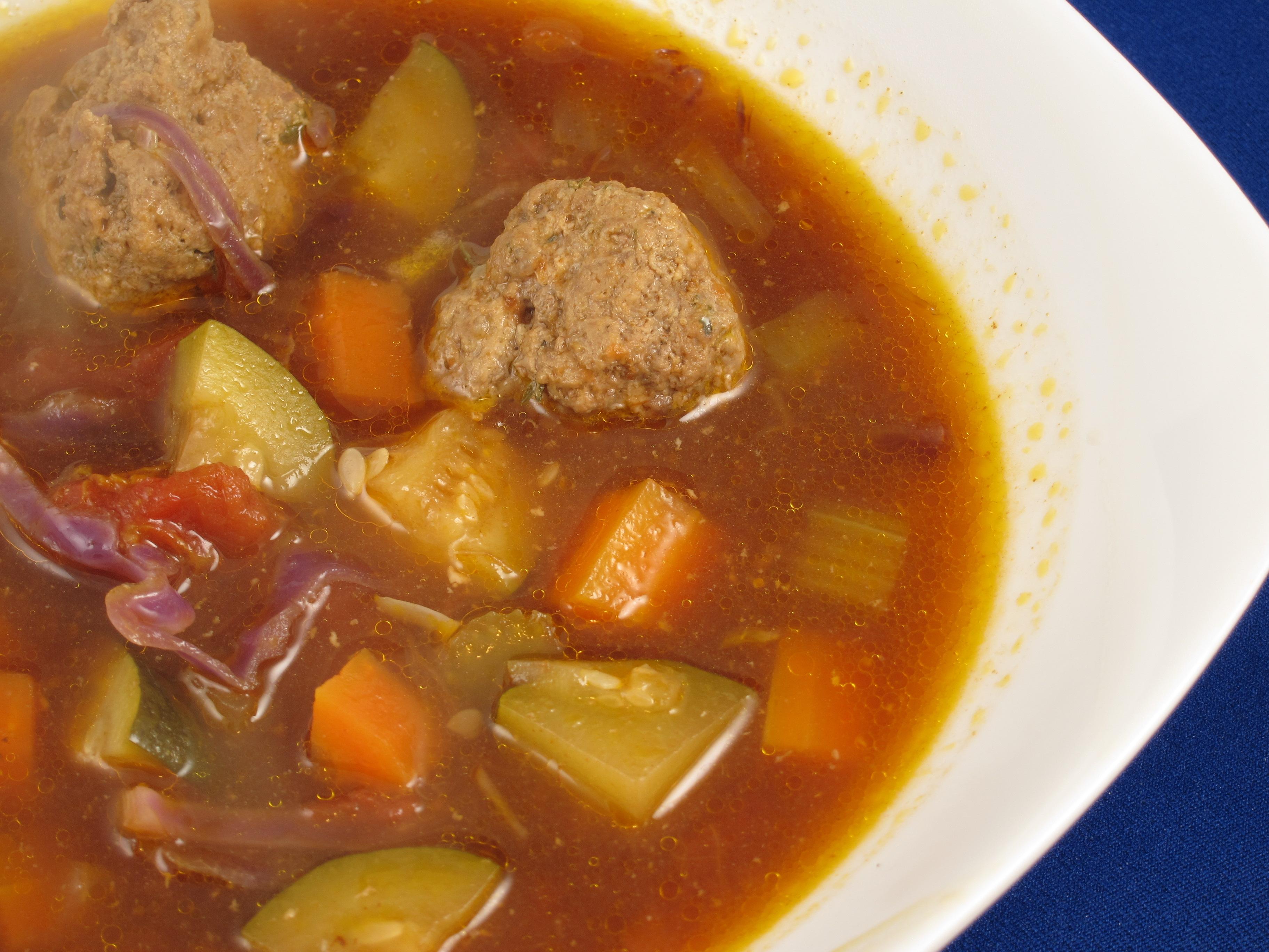 italian vegetable meatball soup italian vegetable meatball soup ...